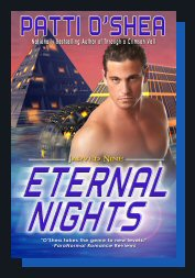 Cover of Eternal Nights Science Fiction Romance by Patti O'Shea